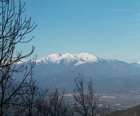 Vallespir à vélo à pied découvertes catalanes